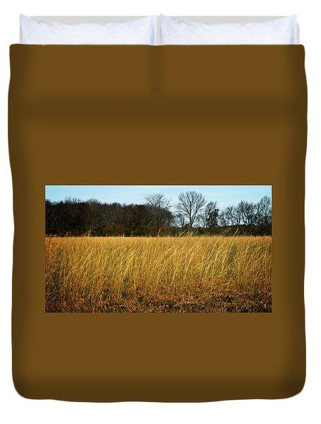 Amber Waves Of Grain Duvet Cover