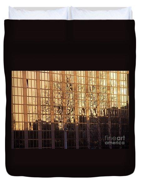 Amber Window Duvet Cover