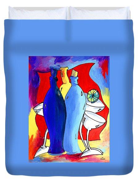 Ameeba 49- Bottles Duvet Cover