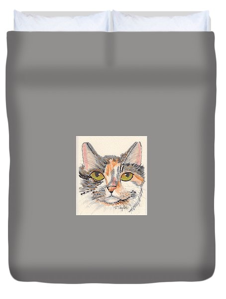 Amelia Duvet Cover by Terry Taylor