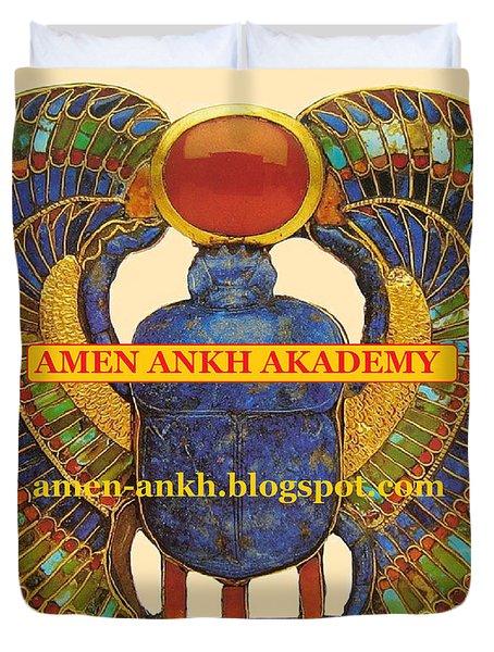 Amen Ankh Akademy Duvet Cover