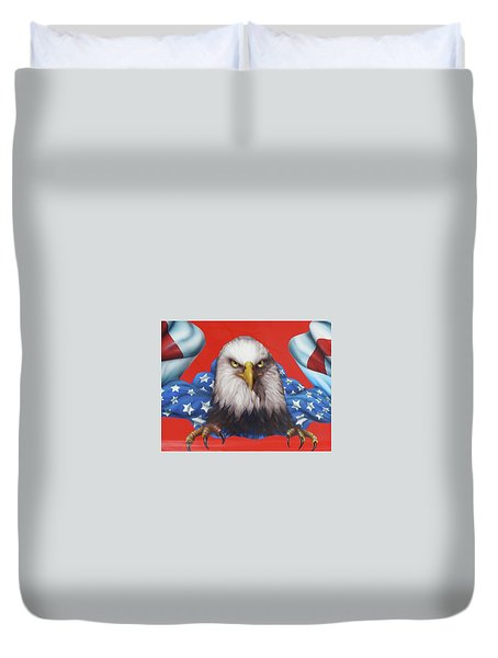 America Patriot  Duvet Cover