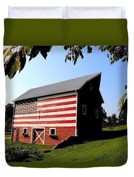 Americana 1 Desoto Kansas Duvet Cover