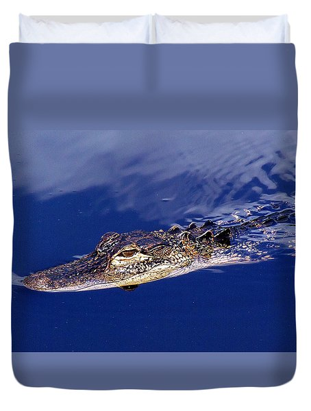 American Alligator 014 Duvet Cover
