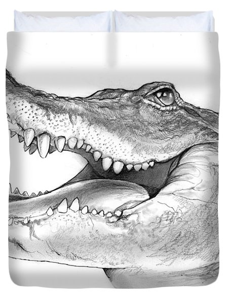American Alligator Duvet Cover by Greg Joens