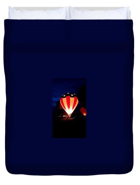 American Balloon Duvet Cover