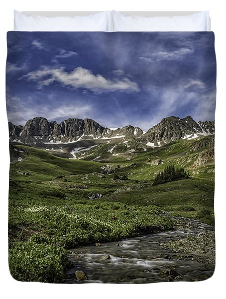 American Basin Trail Head Duvet Cover