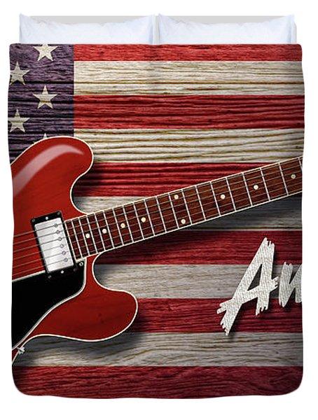 American Blues 335 Duvet Cover