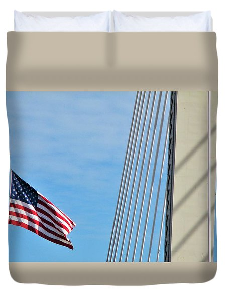 American Afternoon Duvet Cover by Martin Cline