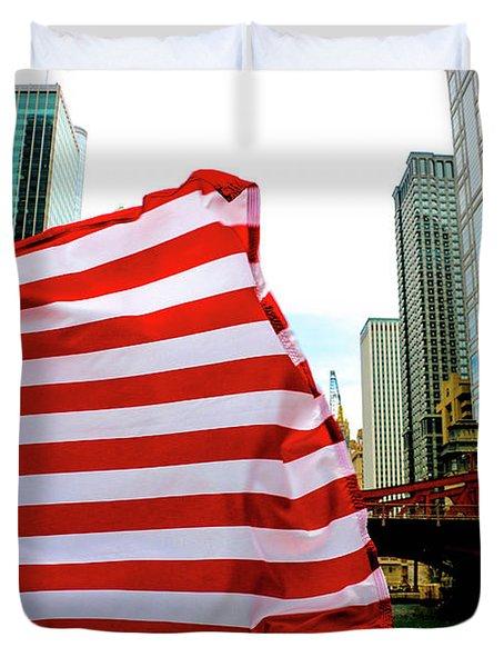American Chi Duvet Cover