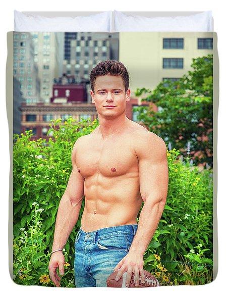 American City Boy Duvet Cover