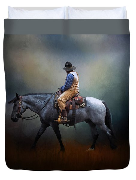 American Cowboy Duvet Cover