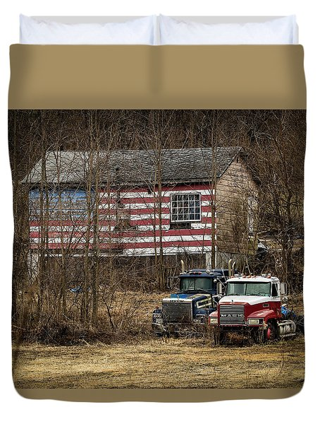 American Dream Duvet Cover by Ray Congrove