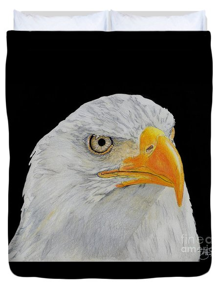 American Eagle Duvet Cover by Bill Richards