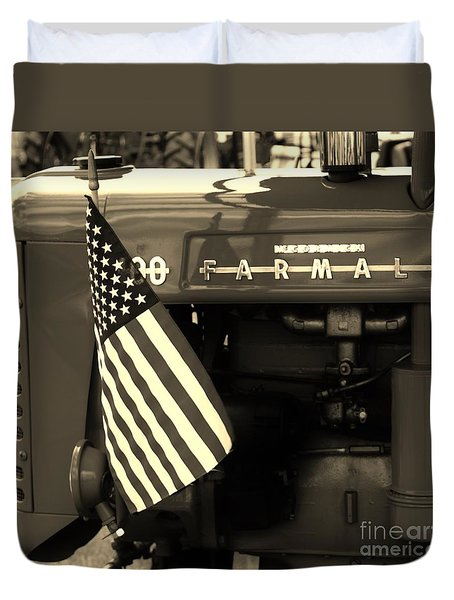 American Farmall Duvet Cover
