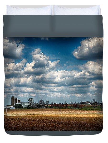 American Farmland Duvet Cover