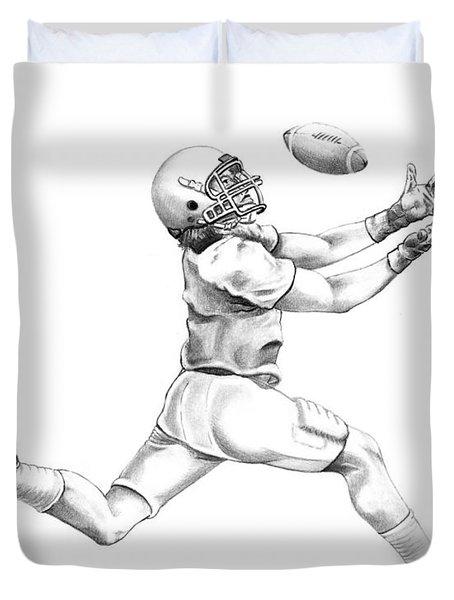 American Football Duvet Cover by Murphy Elliott