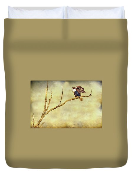Duvet Cover featuring the photograph American Freedom by James BO Insogna