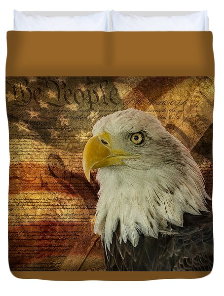 American Icons Duvet Cover