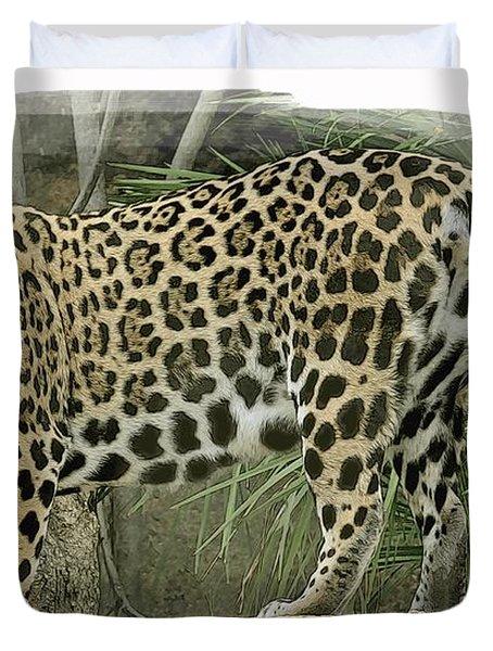 American Jaguar 18 Duvet Cover