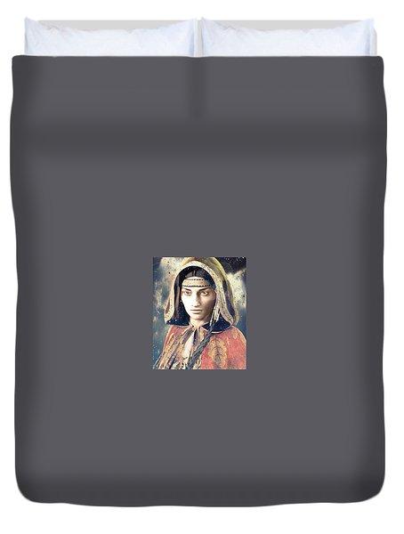 American Light Saint Kateri Tekakwitha Duvet Cover