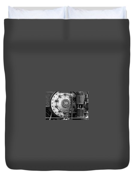 American Locomotive Company #30 Duvet Cover