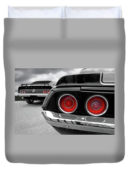 American Muscle Duvet Cover