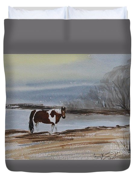 American Paint Duvet Cover