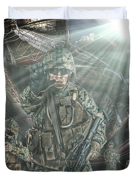 American Patriots Duvet Cover