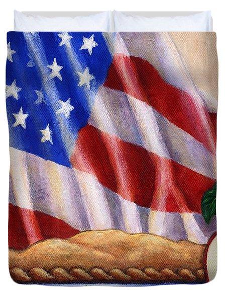 American Pie Duvet Cover by Linda Mears