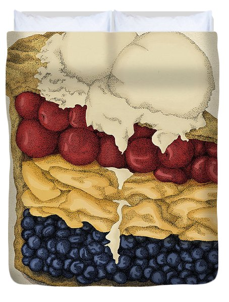 American Pie Duvet Cover