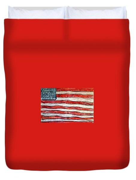 American Social Duvet Cover