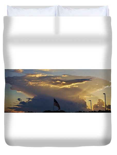 American Supercell Duvet Cover