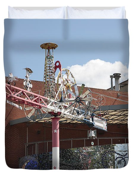 American Visionary Art Museum In Baltimore Duvet Cover