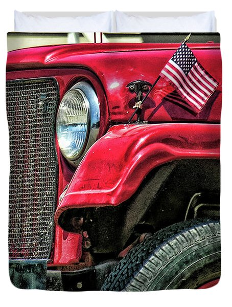 American Willys Duvet Cover