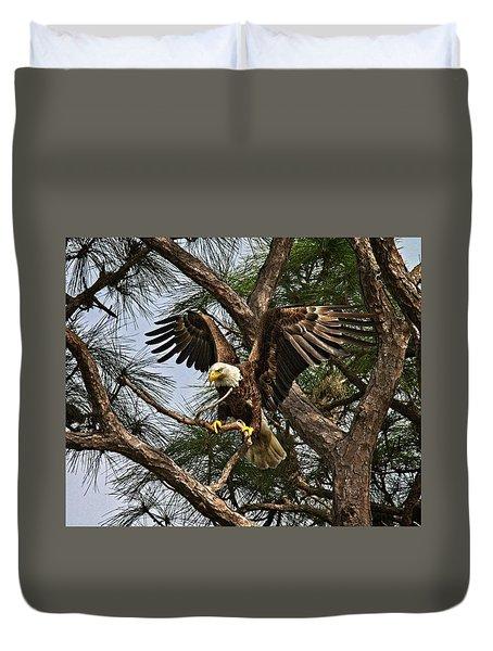 America's Bird Duvet Cover