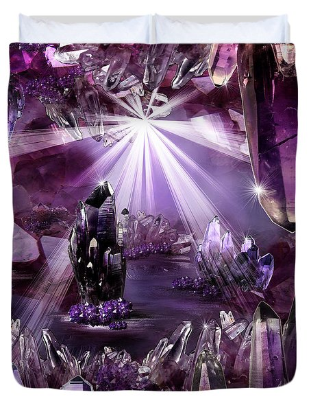 Amethyst Dreams Duvet Cover