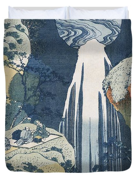 Amida Waterfall Duvet Cover