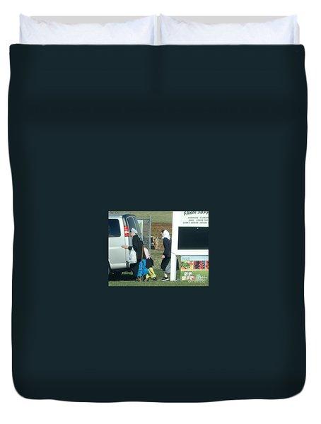 Amish Auction Duvet Cover