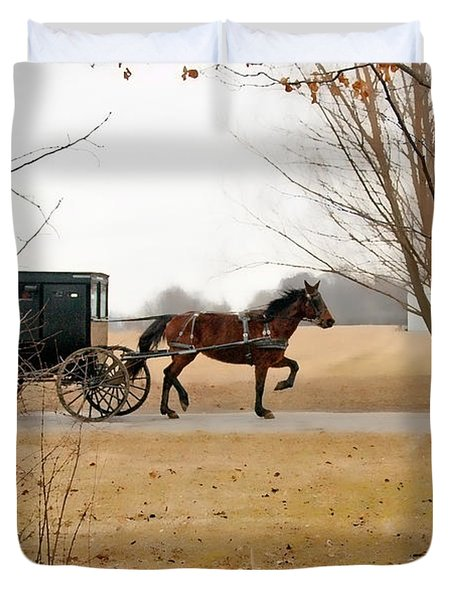 Amish Dream 1 Duvet Cover