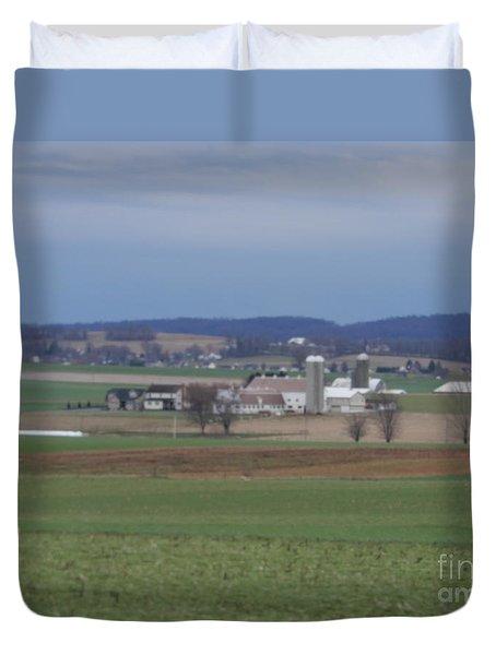 Amish Homestead 3 Duvet Cover