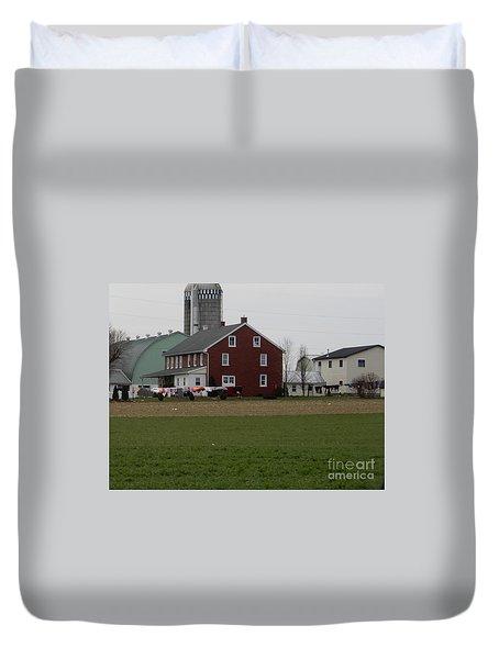 Amish Homestead 7 Duvet Cover