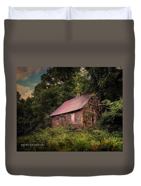 Amish House Duvet Cover