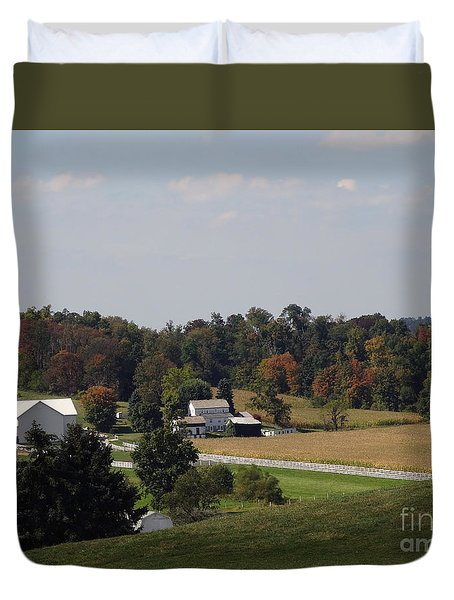 Amish Living Duvet Cover