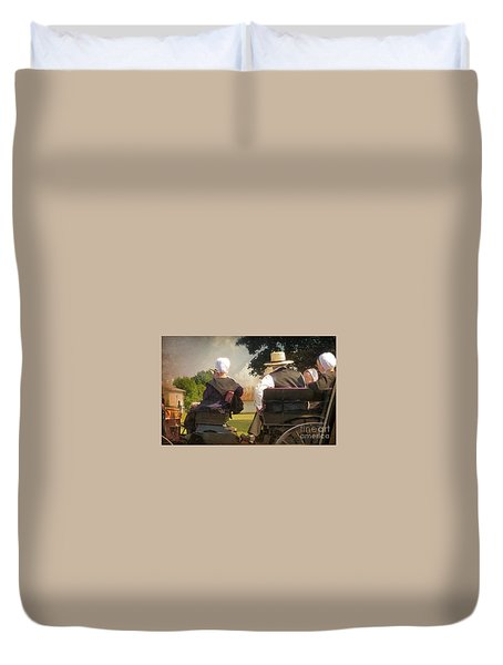 Amish Travelling Duvet Cover
