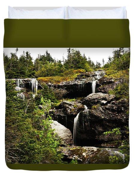 Ammonoosuc Falls Duvet Cover