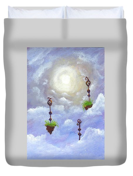 Among The Clouds Duvet Cover