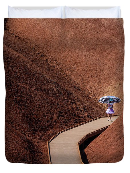Among The Painted Hills Duvet Cover