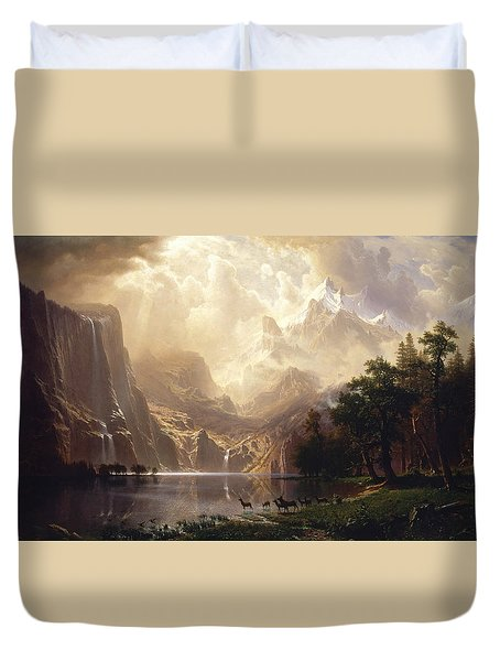 Among The Sierra Nevada Duvet Cover