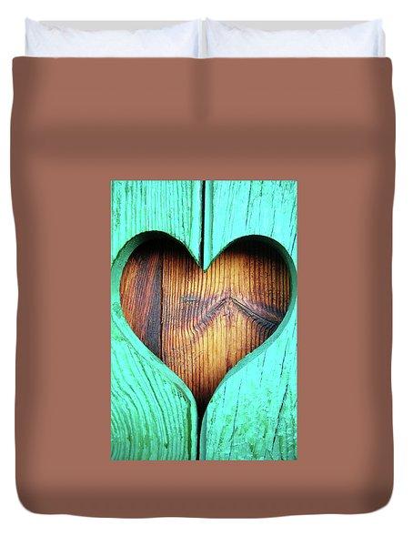 Amor ... Duvet Cover by Juergen Weiss